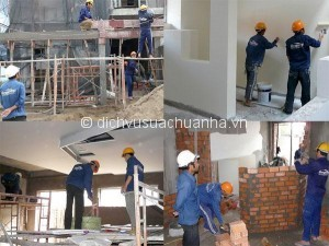 Sửa chữa nhà trọn gói tại tphcm