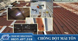 8 cách xử lý mái tôn bị dột - Khắc phục mái tôn triệt để 100%