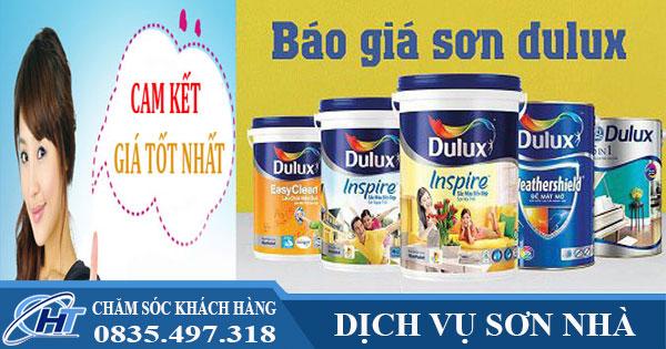 Báo giá sơn Dulux