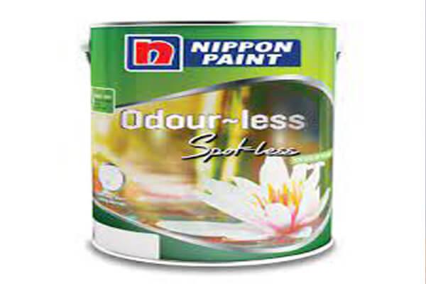 Sản phẩm sơn Nippon Odour-less Spot-less