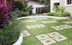 Báo giá lát gạch sân vườn đẹp - uy tín - chất lượng