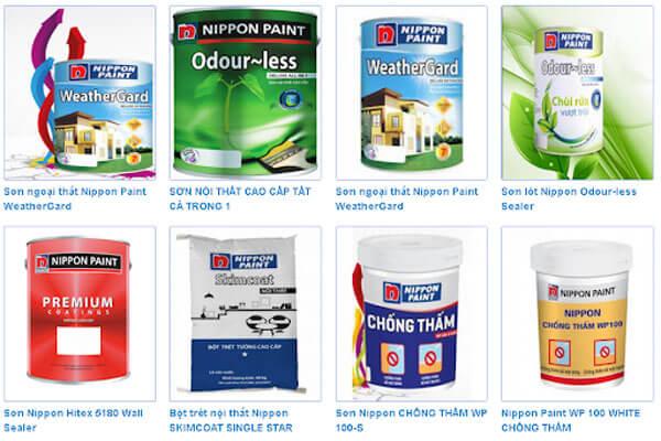 Đại lý sơn nippon khu vực TPHCM chính hãng-giá cạnh tranh