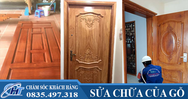 Sửa chữa cửa gỗ giá rẻ