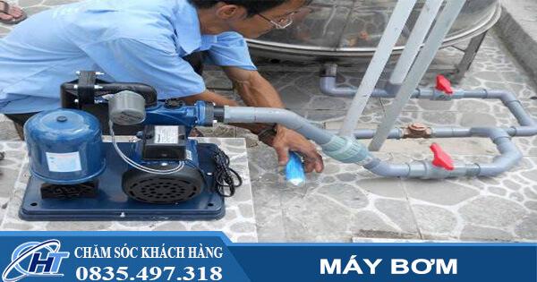 Báo giá sửa chữa lắp đặt máy bơm tăng áp tại nhà