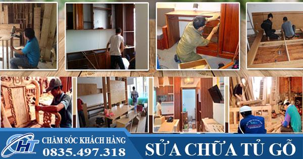 Sửa chữa tủ gỗ giá rẻ
