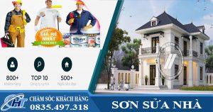 Thợ sơn sửa nhà tại TPHCM giá rẻ
