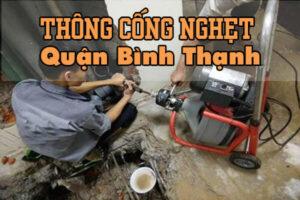 Thông cống nghẹt quận Bình Thạnh
