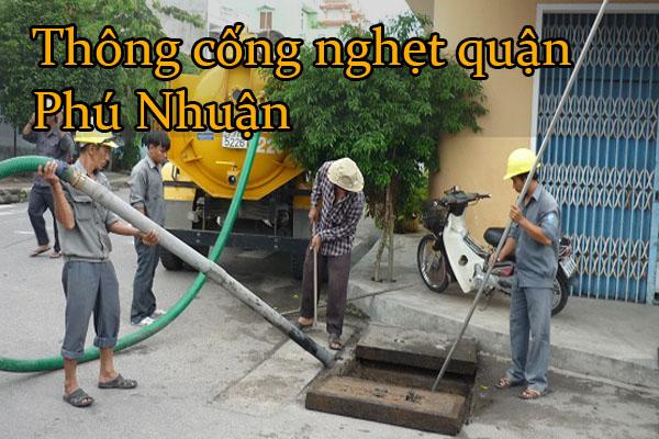 Thông cống nghẹt quận Phú Nhuận